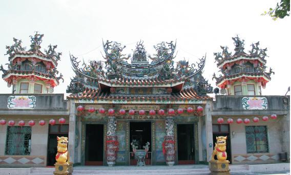 武山廟全貌