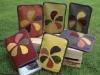 植物染作品-- 票卡夾
