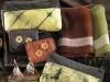 植物染創作作品 植物染作品-- 票卡夾 濃情荔汁合顏悅