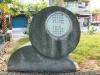 綠廊道的石鼓立牌