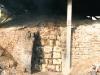 木炭窯窯門
