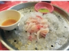 草魚「沙西米」,肉質Q,好吃。〈劉己玄攝〉