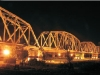 舊鐵橋夜景〈陳瑚琨攝〉
