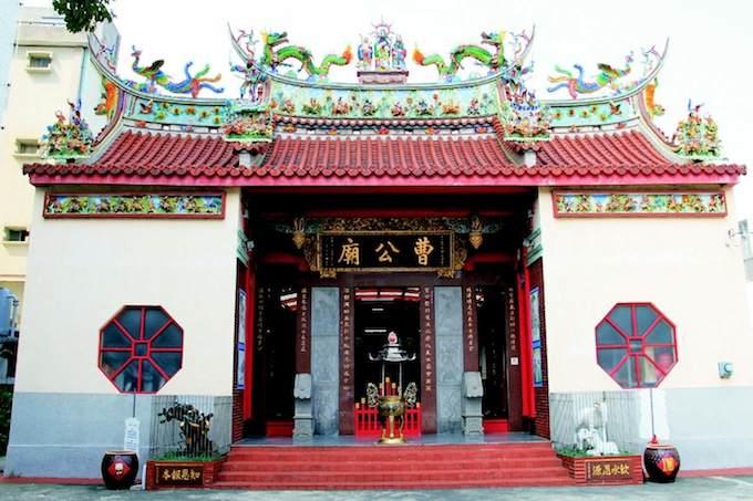 位於鳳山區的「曹公廟」。